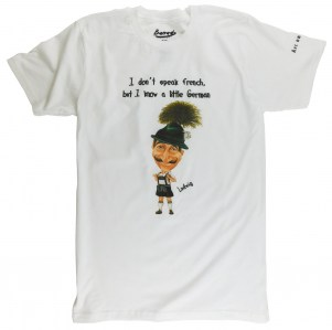 I don't speak French, but I know a little German T-Shirt.